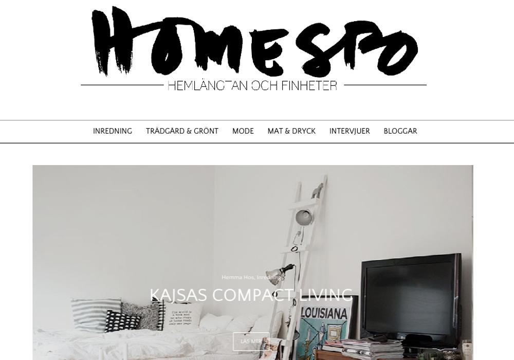 Premiär för Homespo.se!