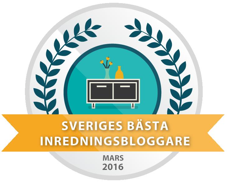 Sveriges bästa inredningsblogg