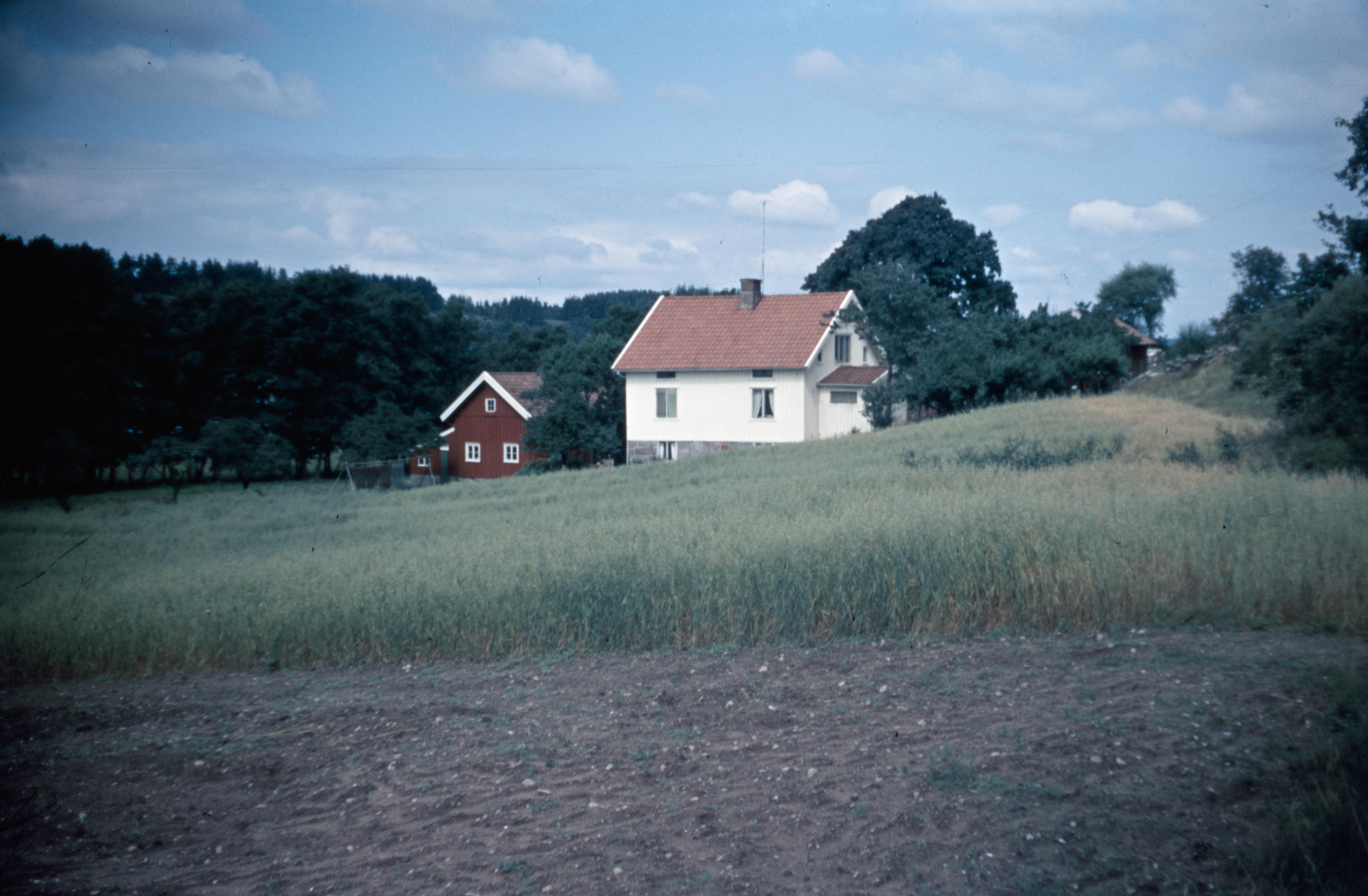 Vårt hus 1962 och idag