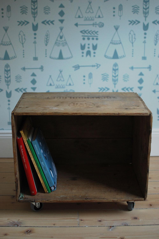 DIY: Bokhylla till barnrum