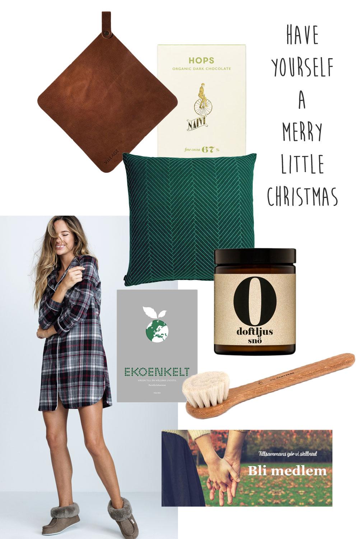 Hållbara julklappar