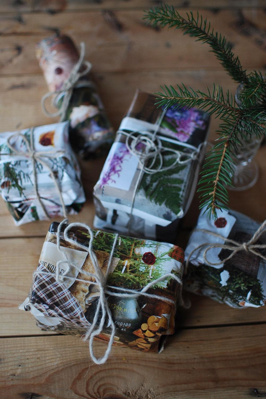 Veckans Miljötips: Slå in julklappar i tidningspapper